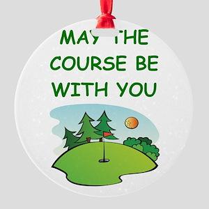 golfing Ornament
