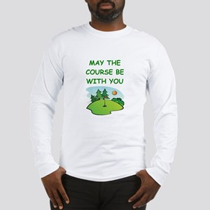 golfing Long Sleeve T-Shirt