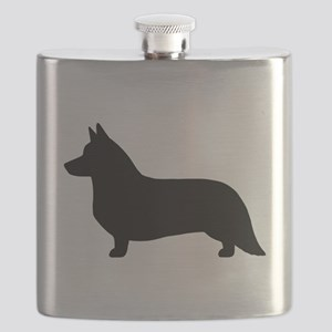 Cardigan Corgi Flask
