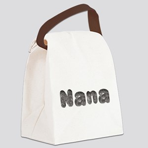 Nana Wolf Canvas Lunch Bag