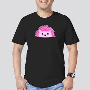 Hedgy the Hedgehog Men's Fitted T-Shirt (dark)