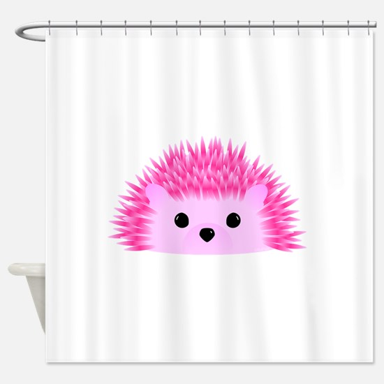 Hedgy the Hedgehog Shower Curtain