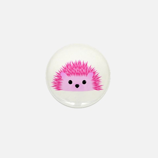 Hedgy the Hedgehog Mini Button
