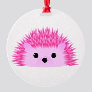 Hedgy the Hedgehog Round Ornament