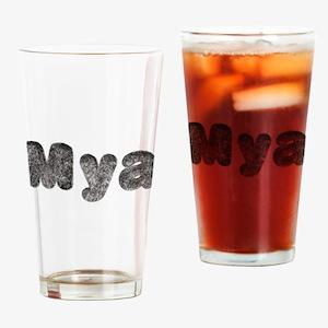 Mya Wolf Drinking Glass