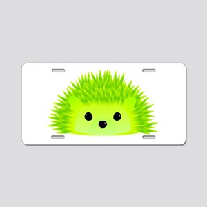 Vedgy the Hedgehog Aluminum License Plate
