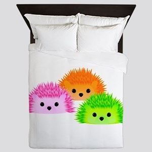 Hedgy, Vedgy, and Sedgwick Queen Duvet