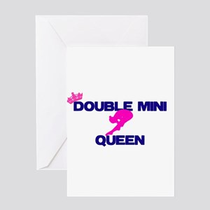 Double Mini Queen Greeting Cards