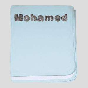 Mohamed Wolf baby blanket