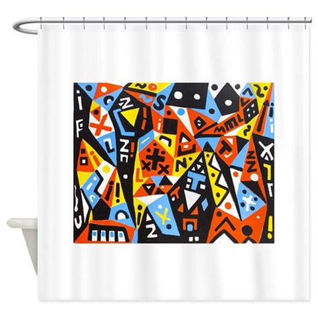 Picasso Shower Curtain By Admin CP13506533