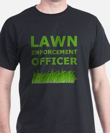 Lawn Officer Green T-Shirt