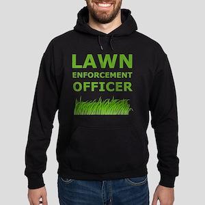 Lawn Officer Green Hoodie (dark)