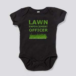 Lawn Officer Green Baby Bodysuit