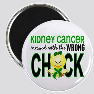 Kidney Cancer (Green) MessedWithWrongChick1 Magnet