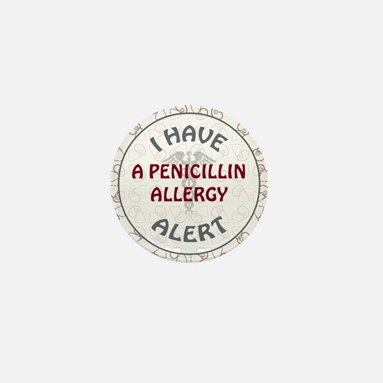 PENICILLIN ALLERGY Mini Button (10 pack)