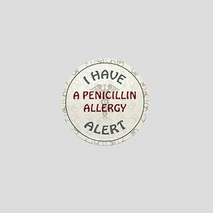 PENICILLIN ALLERGY Mini Button