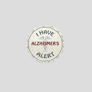 ALZHEIMER'S Mini Button