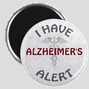 ALZHEIMER'S Magnet