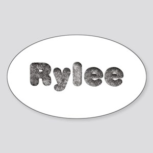 Rylee Wolf Oval Sticker
