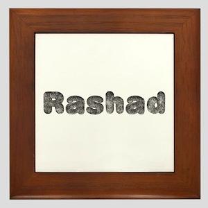 Rashad Wolf Framed Tile
