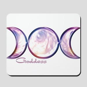 Triple Moon Goddess Mousepad
