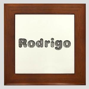 Rodrigo Wolf Framed Tile