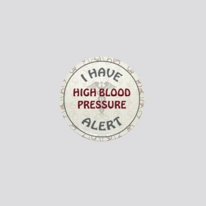 HIGH BLOOD PRESSURE Mini Button