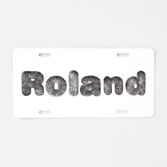 Roland Wolf Aluminum License Plate