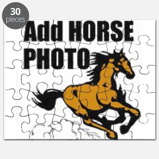 Add Horse Photo Puzzle