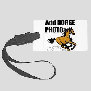 Add Horse Photo Luggage Tag