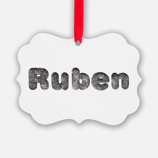 Ruben Wolf Ornament