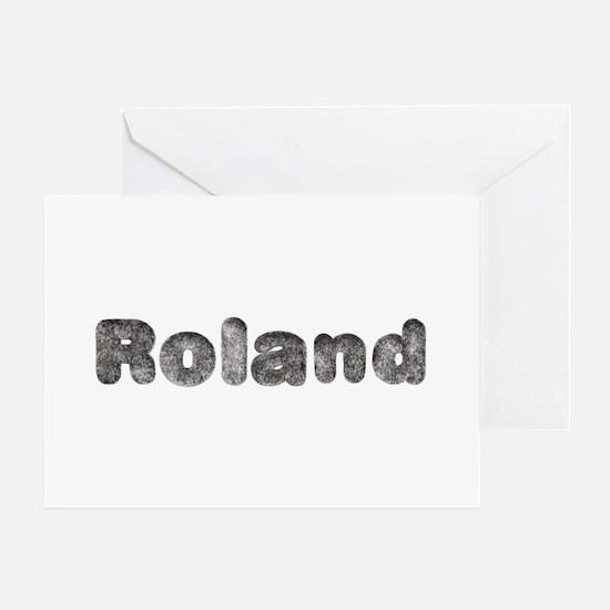 Roland Wolf Greeting Card