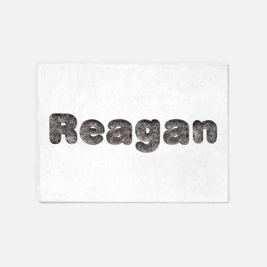 Reagan Wolf 5'x7' Area Rug