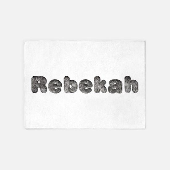 Rebekah Wolf 5'x7' Area Rug