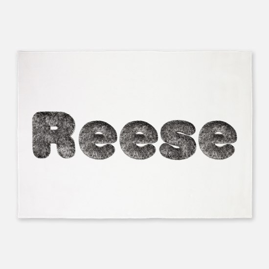 Reese Wolf 5'x7' Area Rug