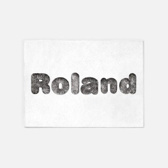 Roland Wolf 5'x7' Area Rug