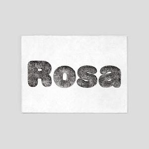 Rosa Wolf 5'x7' Area Rug