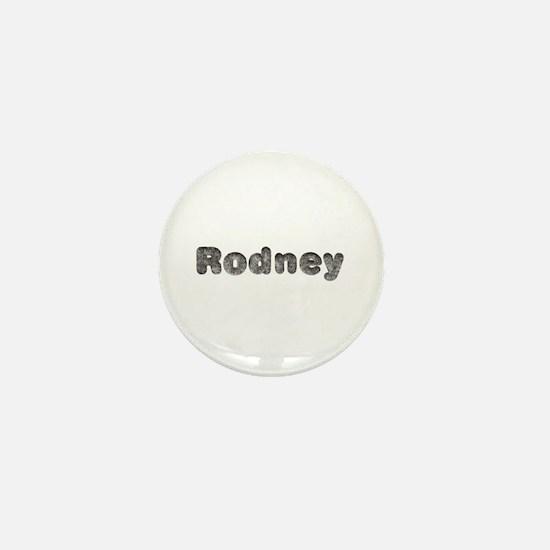 Rodney Wolf Mini Button
