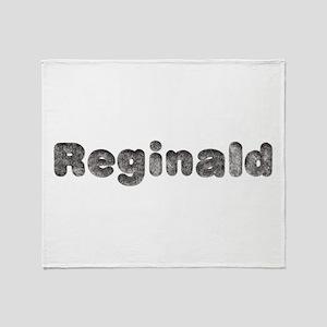 Reginald Wolf Throw Blanket