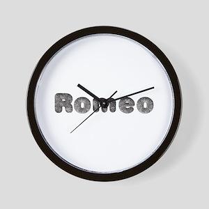 Romeo Wolf Wall Clock