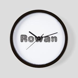 Rowan Wolf Wall Clock