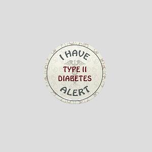 TYPE II DIABETES Mini Button