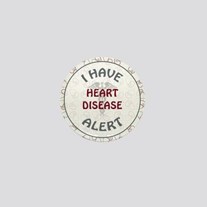 HEART DISEASE Mini Button
