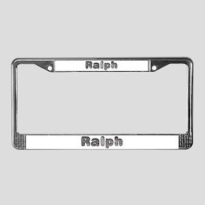 Ralph Wolf License Plate Frame