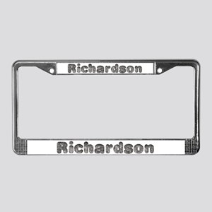 Richardson Wolf License Plate Frame