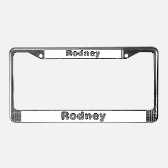 Rodney Wolf License Plate Frame