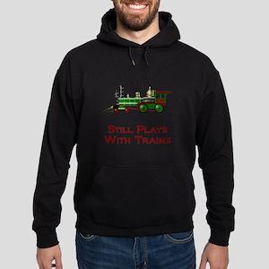 Still Plays With Trains Hoodie (dark)
