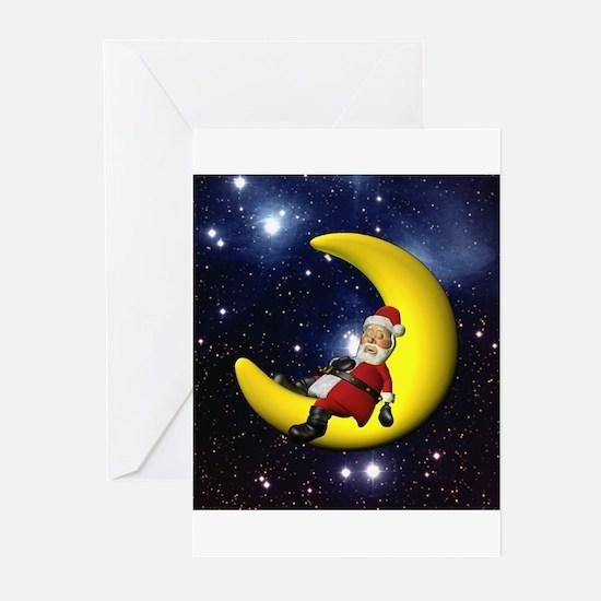 Santaworks - Sleepy Santa Greeting Cards (Pk of 10
