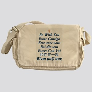 Peace Be With You Messenger Bag