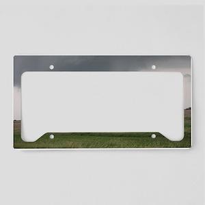 Field Tornado License Plate Holder